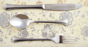 Vintage cutlery Stock Image