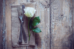 Vintage cutlery Royalty Free Stock Images