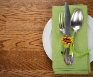 Vintage cutlery Royalty Free Stock Photos