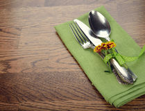 Vintage cutlery Stock Images