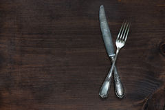 Vintage cutlery Royalty Free Stock Image