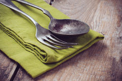 Vintage cutlery Royalty Free Stock Photography