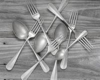 Vintage cutlery Stock Image
