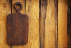 Vintage cutting board Royalty Free Stock Photos