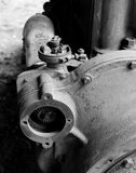 Vintage 6-Cylinder Gas Engine Royalty Free Stock Photos