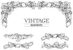 Vintage décor Stock Images