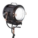 Vintage 3d Theater Spotlight or Movie Studio Light Royalty Free Stock Image