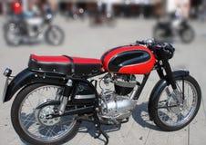 Vintage da motocicleta Fotografia de Stock Royalty Free