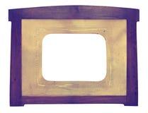 Vintage Daguerreotype era frame Stock Image