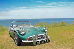 Vintage daimler dart sp250 car Stock Images