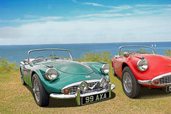 Vintage daimler dart sp250 cars Stock Images