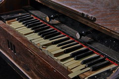 Vintage damaged organ Royalty Free Stock Photography