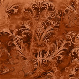 Vintage damaged ornament texture Royalty Free Stock Images