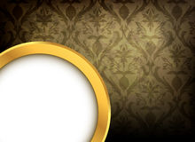 Vintage damask background Royalty Free Stock Photo