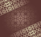 Vintage damask background. Can be used as invitation, card Royalty Free Stock Photography