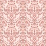 Vintage damask ornamental seamless pattern Stock Photo