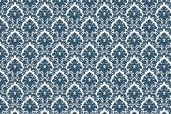 Vintage damask pattern Stock Images