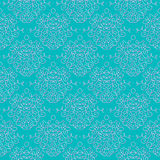 Vintage damask pattern linear vector background Stock Photo