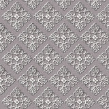Vintage Damask Patterns Stock Photos