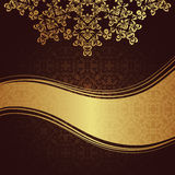 Vintage damask seamless background Royalty Free Stock Images