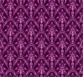 Vintage damask seamless background. Floral motif pattern. Stock Photography
