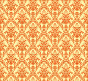 Vintage damask seamless background. Floral motif pattern. EPS-8  texture Stock Photography