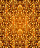 Vintage damask seamless background. Floral motif pattern. Stock Photo