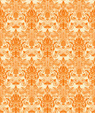 Vintage damask seamless background. Floral motif pattern. EPS-8  texture Royalty Free Stock Photo