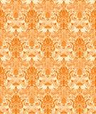 Vintage damask seamless background. Floral motif pattern. Royalty Free Stock Photo