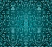 Vintage damask seamless background. Floral motif pattern. Stock Photos