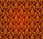 Vintage damask seamless background. Floral motif pattern. Stock Images