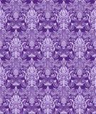 Vintage damask seamless background. Floral motif pattern. Royalty Free Stock Image