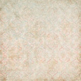 Vintage Damask Wallpaper stock photography