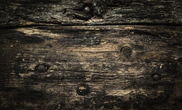 Vintage dark wooden background, texture. Vintage dark wooden background, top view stock photos