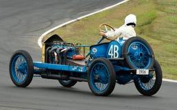 Vintage Darracq racing car at speed Stock Photography