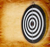 Vintage dart board Royalty Free Stock Photo