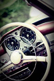 Vintage dashboard Royalty Free Stock Image