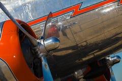 Free Vintage DC-3 Airplane Stock Photo - 27524620