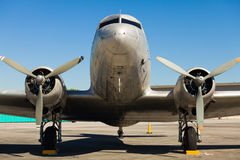 Vintage DC-3 Airplane Royalty Free Stock Images