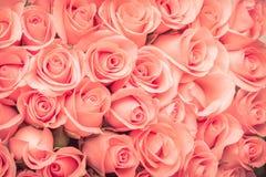 Vintage de bouquet de fleur de Rose Photographie stock