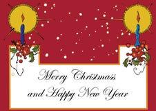 Vintage de Christmass Foto de Stock Royalty Free