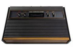 Vintage de console de jeux Images libres de droits