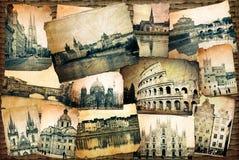 Vintage de Europa Foto de Stock