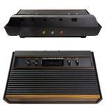 Vintage de la consola de los juegos Foto de archivo libre de regalías
