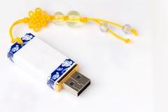 Vintage de la impulsión de memoria USB Imagenes de archivo