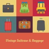 Vintage de la maleta Fotos de archivo libres de regalías