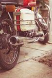 Vintage de la motocicleta imagenes de archivo