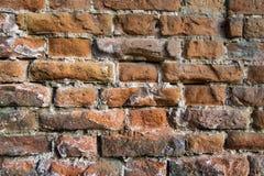 Vintage de la pared de ladrillo Imagen de archivo libre de regalías