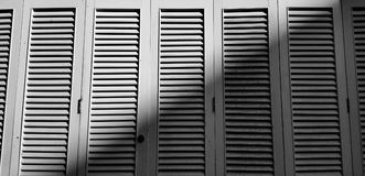 Vintage de la puerta y acción de madera de la foto del blackground Fotos de archivo