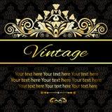 Vintage de la tarjeta de la invitación Fotos de archivo